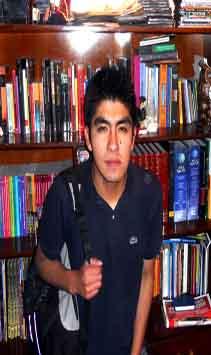 Brayan Mamani Magne es el ganador del Premio Nacional de Literatura Infantil 2012
