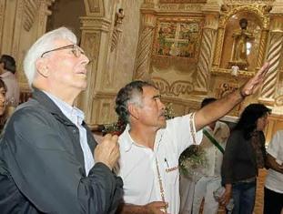 Vargas Llosa en Bolivia