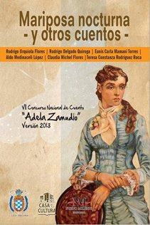 """Convocatoria del VIII Concurso Plurinacional de Cuento """"Adela Zamudio"""" Versión 2014"""