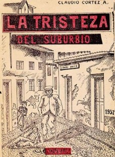 Claudio Cortez, vertiente literaria marginal
