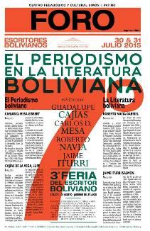 El periodismo boliviano y su intersección con la literatura