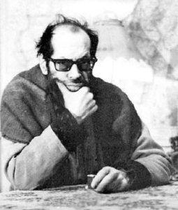 Jaime Saenz en Cochabamba