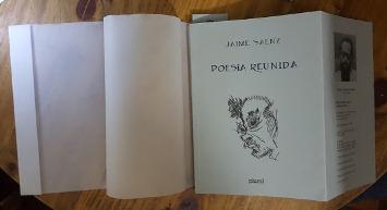 Celebración y significación de la edición de la obra poética de Jaime Saenz