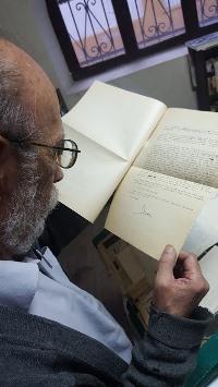 Cartas inéditas de Saenz y detalles  en torno a Felipe Delgado