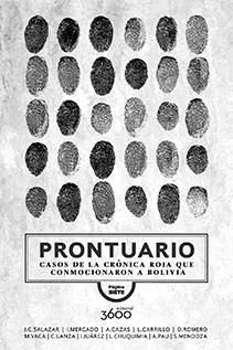 Prontuario, un libro que muestra Bolivia