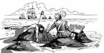 Historias para escribas cortados a tijera